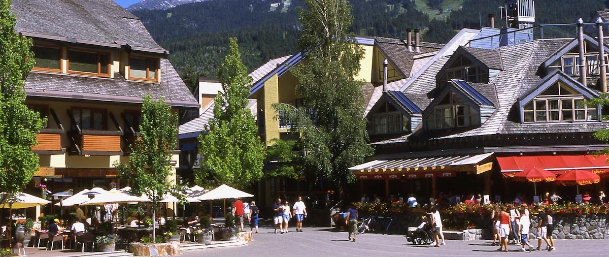 Whistler Village Slider