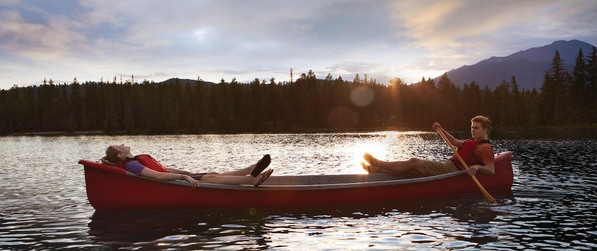 Canoe Lake Jasper