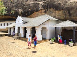 Dambulla Caves Sri Lanka Tour Sigiriya Rock