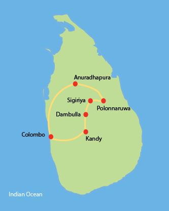 Short Tour - Cultural Triangle