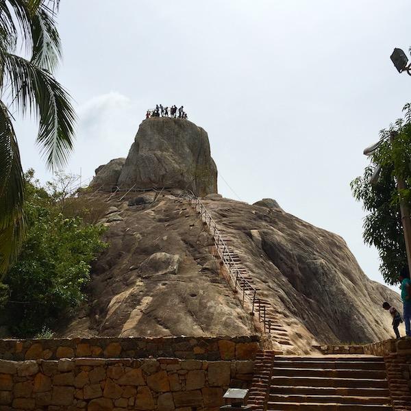 Mihintale Rock Climb